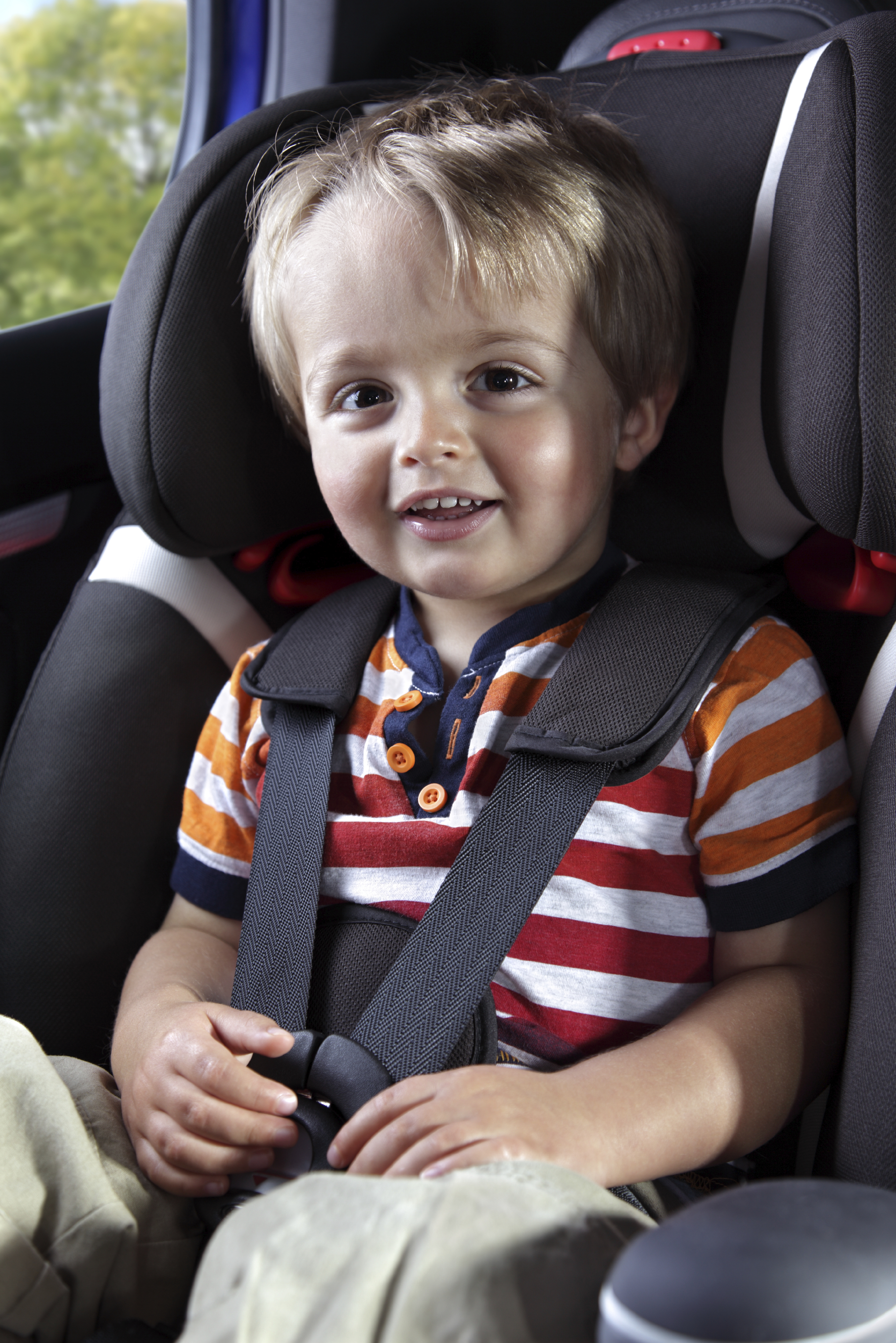 My Son In His Car Seat